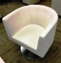 White guest chair