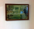 Old kitchen view - wood frame