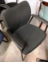 Black Guest chair by National