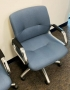 Blues office chairs