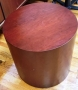 Wood Round end tables