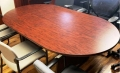 6 foot Cherry laminate conference table