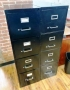 4 drawer Black Vertical Files