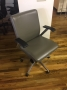 Gray Leather chairs