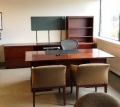 Wood Executive cherry desk