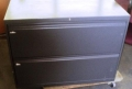 Two Drawer Lateral File Graphite Finish