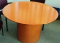 Wood Meeting table Round