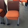 Steelcase Stacker Chairs on Casters