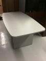 Grey conference table