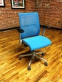 Blue Think chairs