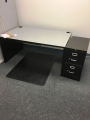 Grey small desk