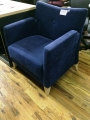 Blue Lobby Chair