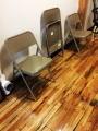 Folding chairs - NEW