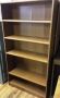 Tall wood bookcases