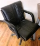 Black Leatherette Chairs
