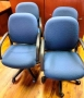 Blue task / Conference chairs