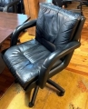 Black Leatherette Boardroom chairs