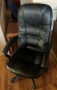 Black Leatherette Executive chair