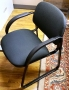 Black Fabric Guest chairs