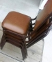 Brown Stacker Chairs
