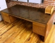 Straight desk by Kimball