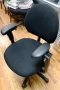 Black Criterion Task chairs