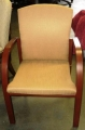 Cream Fabric Guest Chair