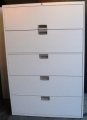 Metal Lateral 5 Drawer File Cabinet