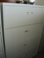 Steelcase 4 drawer lateral file no lock 36