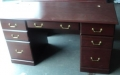 Red Mahogany Desk
